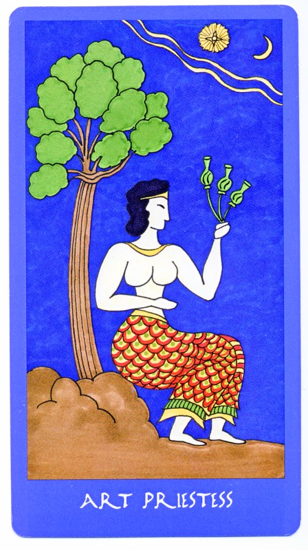 Minoan Tarot Priestess